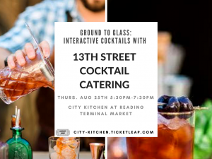 Ground to Glass_ Interactive Cocktails with 13th Street Cocktail Catering-2